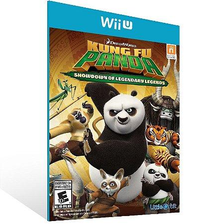 Wii U - Kung Fu Panda: Showdown of Legendary Legends - Digital Código 16 Dígitos US