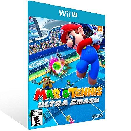 Wii U - Mario Tennis: Ultra Smash - Digital Código 16 Dígitos US