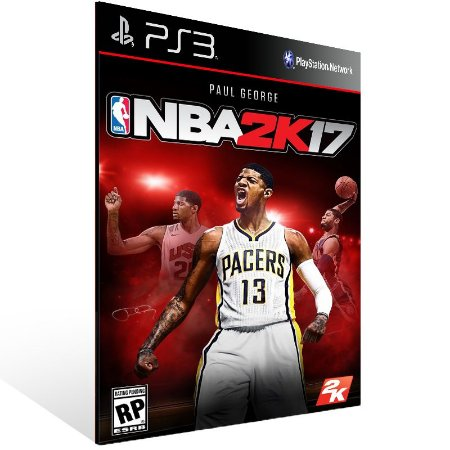 Ps3 - NBA 2K17 - Digital Código 12 Dígitos US