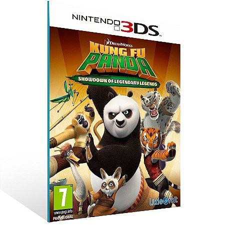 3DS - Kung Fu Panda: Showdown of Legendary Legends - Digital Código 16 Dígitos US