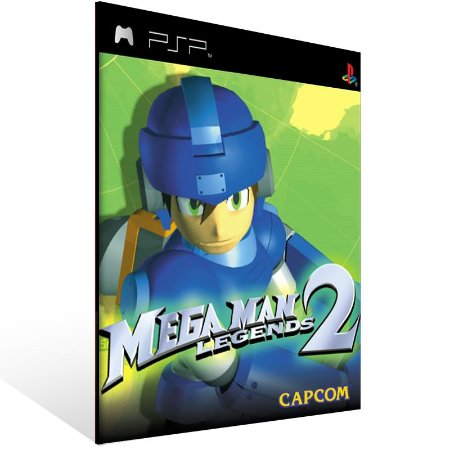 Psp - Mega Man Legends 2 (PSOne Classic) - Digital Código 12 Dígitos US