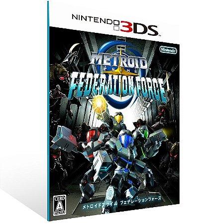 3DS - Metroid Prime: Federation Force - Digital Código 16 Dígitos US
