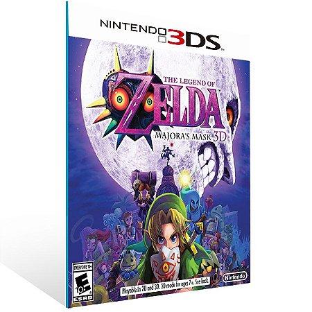 3DS - The Legend of Zelda: Majora Mask 3D - Digital Código 16 Dígitos US