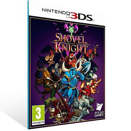 3DS - Shovel Knight - Digital Código 16 Dígitos US