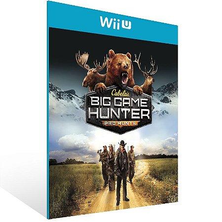 Wii U - Cabela's Big Game Hunter Pro Hunts - Digital Código 16 Dígitos US