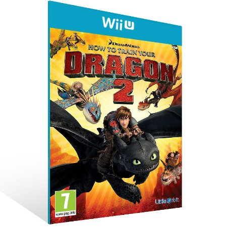 Wii U - How to Train Your Dragon 2 - Digital Código 16 Dígitos US