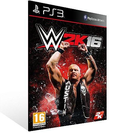 Ps3 - WWE 2K16 - Digital Código 12 Dígitos US