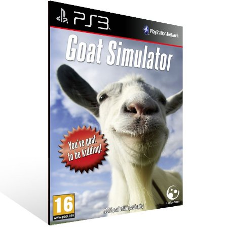 Ps3 - Goat Simulator - Digital Código 12 Dígitos US