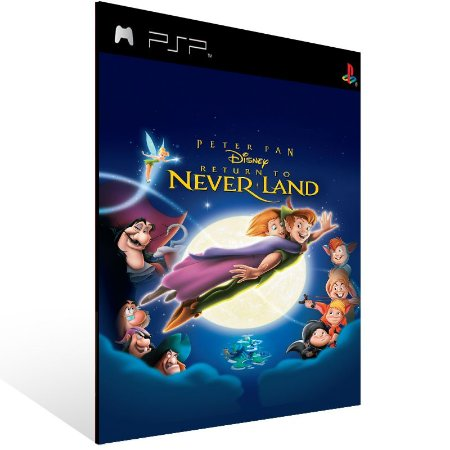 Psp - Disney's Peter Pan Return to Never Land (PSOne Classic) - Digital Código 12 Dígitos US