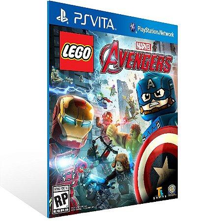 Ps Vita - LEGO Marvel's Avengers - Digital Código 12 Dígitos US