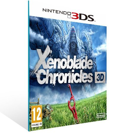 3DS - Xenoblade Chronicles 3D - Digital Código 16 Dígitos US