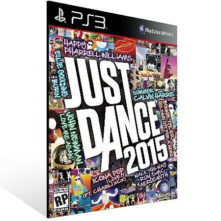 Ps3 - Just Dance 2015 - Digital Código 12 Dígitos US