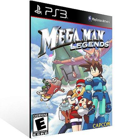 Ps3 - Mega Man Legends (PSOne classic) - Digital Código 12 Dígitos US