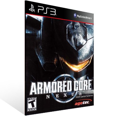 Ps3 - Armored Core (PS One Classic) - Digital Código 12 Dígitos US