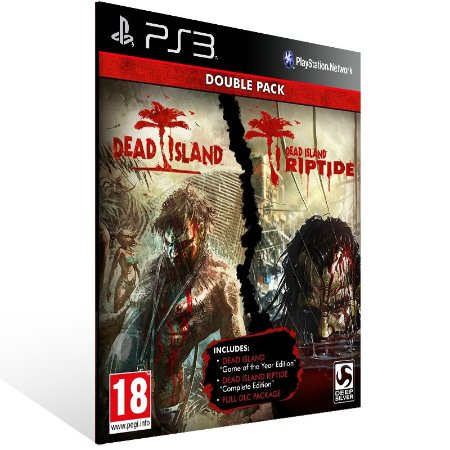Ps3 - Dead Island Franchise Pack - Digital Código 12 Dígitos US