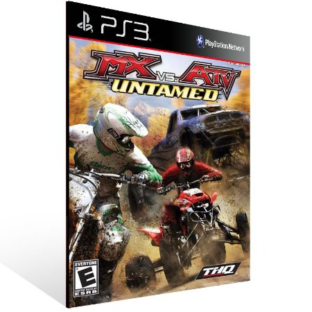 Ps3 - MX vs. ATV Untamed (PS2 Classic) - Digital Código 12 Dígitos US