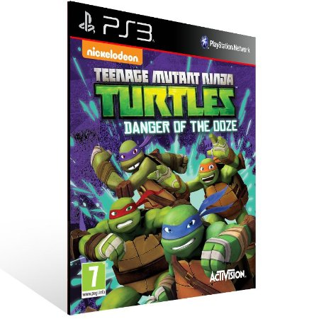 Ps3 - Teenage Mutant Ninja Turtles™: Danger of the Ooze - Digital Código 12 Dígitos US