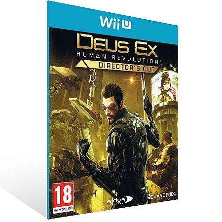 Wii U - Deus Ex: Human Revolution - Director's Cut - Digital Código 16 Dígitos US