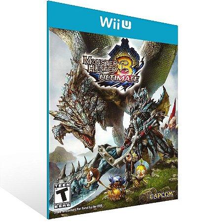 Wii U - Monster Hunter 3 Ultimate - Digital Código 16 Dígitos US