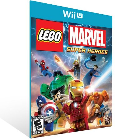 Wii U - LEGO Marvel Super Heroes - Digital Código 16 Dígitos US