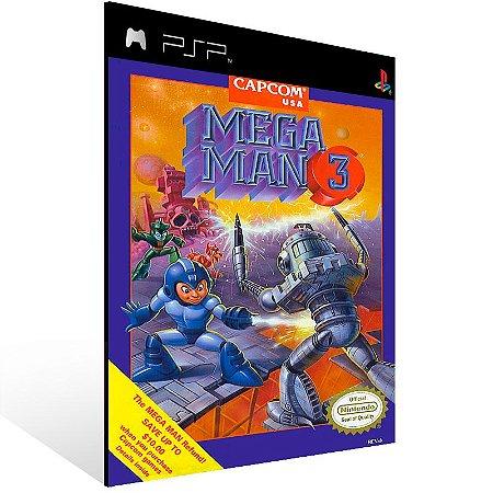Psp - Mega Man 3 (PSOne Classic) - Digital Código 12 Dígitos US