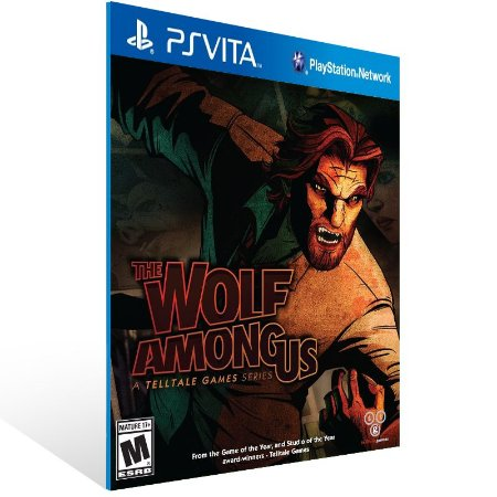 Ps Vita - The Wolf Among Us - A Telltale Games Series - Digital Código 12 Dígitos US
