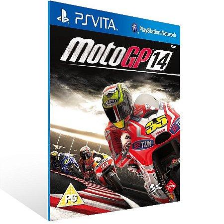 Ps Vita - MotoGP 14 - Digital Código 12 Dígitos US