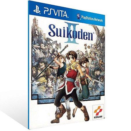Ps Vita - Suikoden II (PSOne Classic) - Digital Código 12 Dígitos US