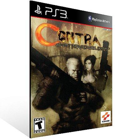 Ps3 - Contra Shattered Soldier (PS2 Classic) - Digital Código 12 Dígitos US