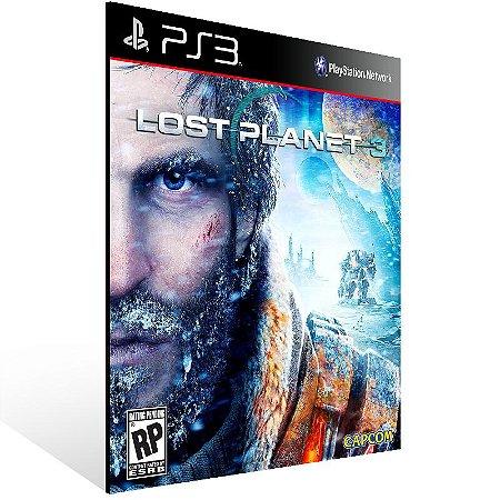 Ps3 - Lost Planet 3 - Digital Código 12 Dígitos US