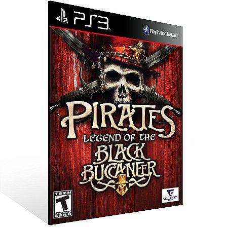 Ps3 - Pirates: Legend of the Black Buccaneer (PS2 Classic) - Digital Código 12 Dígitos US