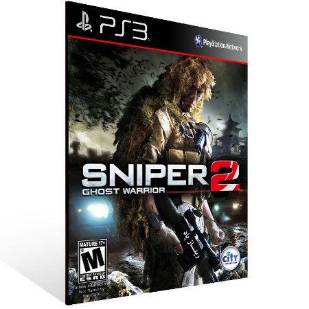 Ps3 - Sniper Ghost Warrior 2 - Digital Código 12 Dígitos US