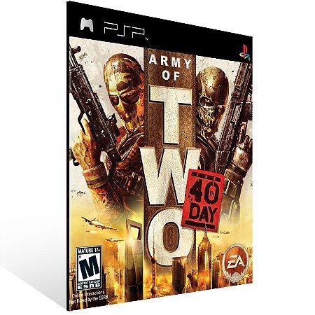 PSP - Army of Two: The 40th Day  - Digital Código 12 Dígitos US