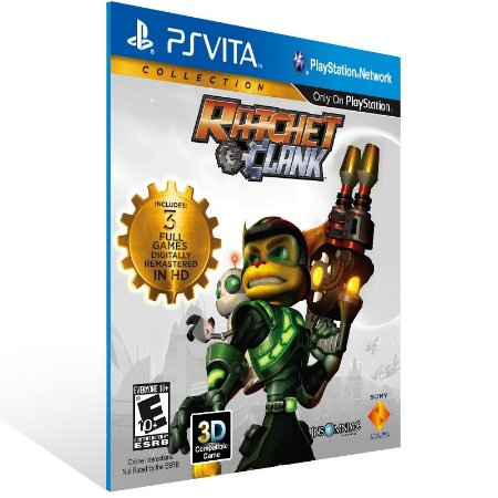 Ps Vita - Ratchet & Clank Collection - Digital Código 12 Dígitos US