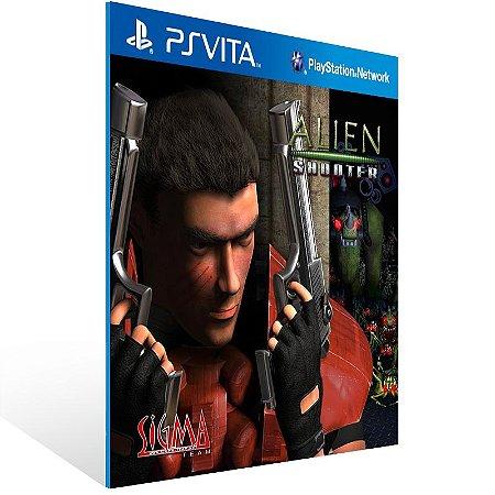 Ps Vita - Alien Shooter - Digital Código 12 Dígitos US