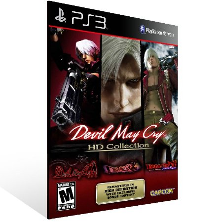 Ps3 - Devil May Cry HD Collection - Digital Código 12 Dígitos US