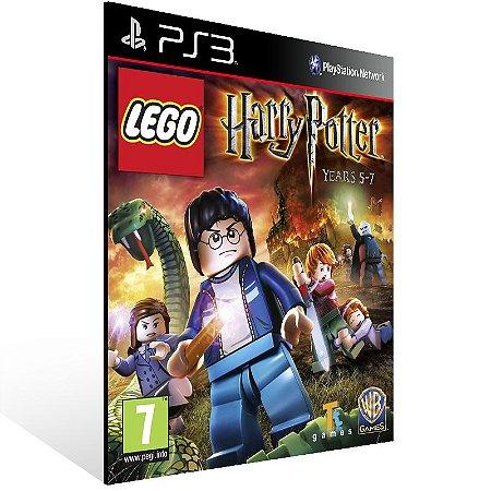 Ps3 - LEGO Harry Potter: Years 5-7 - Digital Código 12 Dígitos US