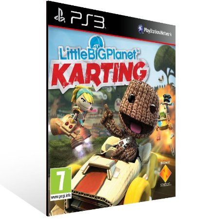Ps3 - LittleBigPlanet Karting - Digital Código 12 Dígitos US