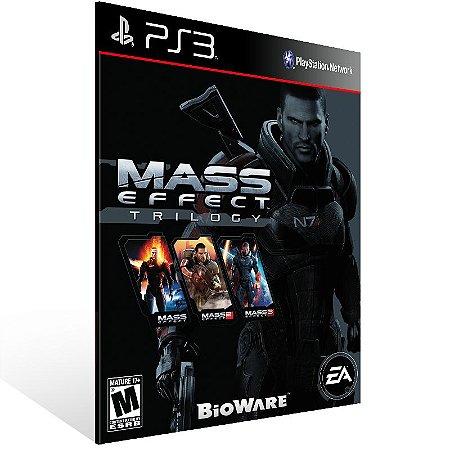 Ps3 - Mass Effect Trilogy - Digital Código 12 Dígitos US