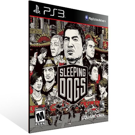 Ps3 - Sleeping Dogs Digital Edition - Digital Código 12 Dígitos US