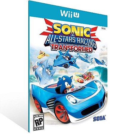 Wii U - Sonic & All-Stars Racing Transformed - Digital Código 16 Dígitos US
