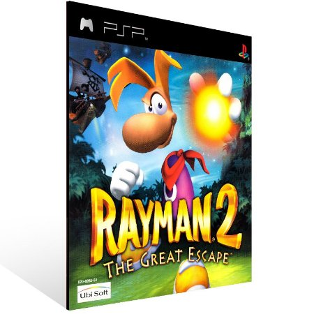PSP - Rayman 2: The Great Escape (PSOne Classic) - Digital Código 12 Dígitos US