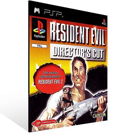 Psp - Resident Evil Director's Cut - Digital Código 12 Dígitos US