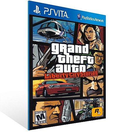 Ps Vita - Grand Theft Auto: Liberty City Stories - Digital Código 12 Dígitos US