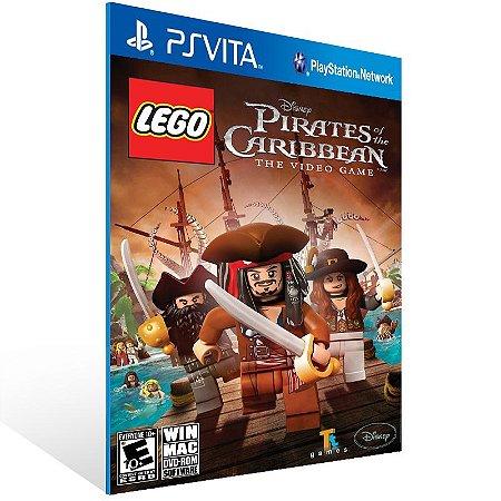Ps Vita - LEGO Pirates of the Caribbean: The Video Game - Digital Código 12 Dígitos US