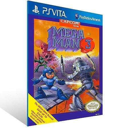 Ps Vita - Mega Man 3 (PSOne Classic) - Digital Código 12 Dígitos US