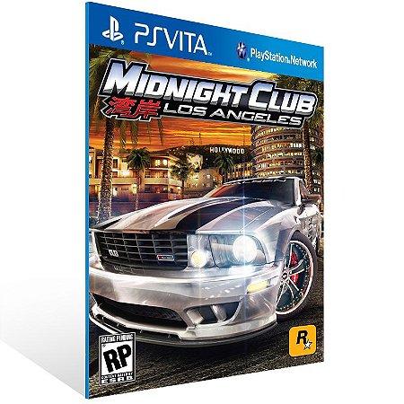 Ps Vita - Midnight Club: L.A Remix - Digital Código 12 Dígitos US