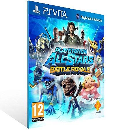 Ps Vita - PlayStation All-Stars Battle Royale - Digital Código 12 Dígitos US