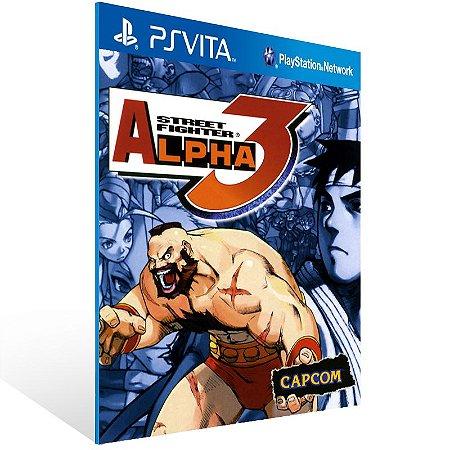 Ps Vita - Street Fighter Alpha 3 (PSOne Classic) - Digital Código 12 Dígitos US