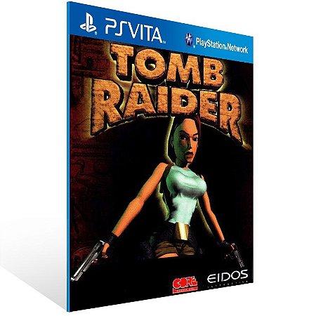 Ps Vita - Tomb Raider (PSOne Classic) - Digital Código 12 Dígitos US